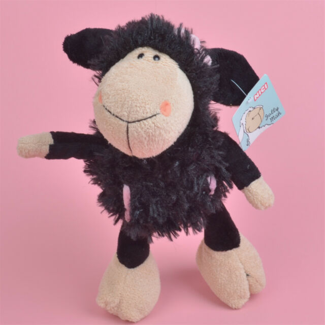 35cm Nici Black Sheep Plush Toy Soft And Cute Ebay