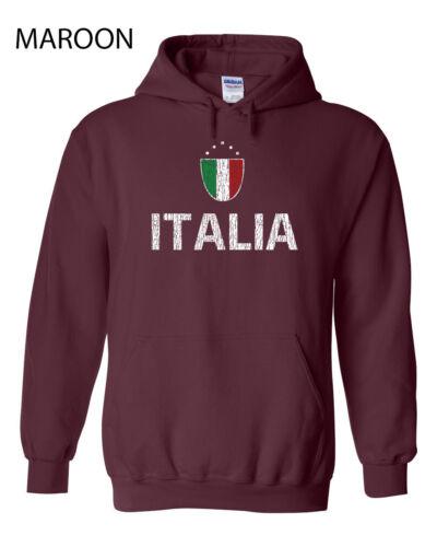 437 Italia Flag Hoodie sweatshirt funny country italian italy cool futbol soccer