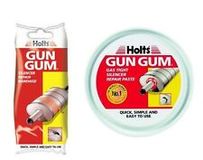 "HOLTS ""GUN GUM"" SILENCER EXHAUST REPAIR PASTE & REPAIR BANDAGE"