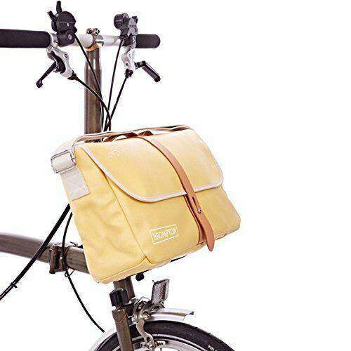 Nuevo Bolso de hombro Brompton + marco (Amarillo Beige)