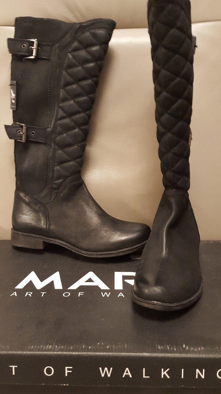 Stiefel von Marc  Leder Gr. 42   schwarz  42 neu d36b26