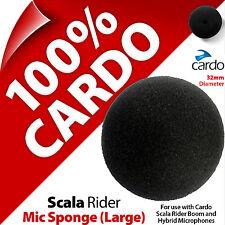Cardo Scala Rider Esponja de Micrófono Boom Grande/híbrido micrófonos Qz Q1 Q3 G9x PackTalk