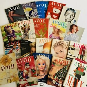 1996-Vintage-Avon-Catalog-Campaign-Books-Lot-of-20