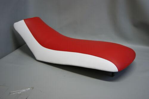 HONDA TRX250x Seat Cover 1987 1988 1989 1990 1991 1992  2-TONE RED /& WHITE