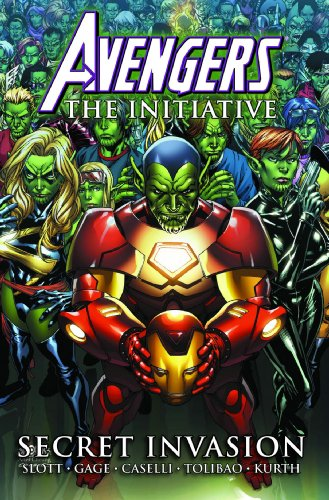 Avengers: The Initiative Volume 3 - Secret Invasion Premiere HC, Very Good Condi