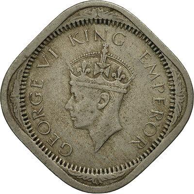 Fine [#465009] India-british, George Vi, 2 Annas, 1941, Au(55-58), Copper-nickel Customers First