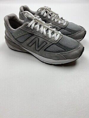 # 373 New Balance 990 v5 Men Gray Sneakers Size 10.5 D RETAIL $175 | eBay