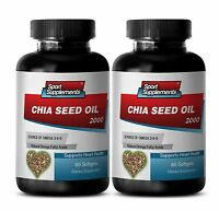 Chia Seeds 1 - Chia Seed Oil 2350mg - Extreme Weight Loss Pills 2b