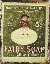 FAIRY SOAP METAL SIGN 8x10in pub bar shop cafe bakery diner shop bathroom