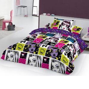 Funda Nordica Monster.Details About Duvet Set Monster High Chispas 3 Pcs Single Bed Funda Nordica