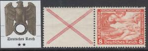 GERMANY  REICH - 1933 WAGNER  ZD W53 Mi 503+cross X  cv 240$  MNH**