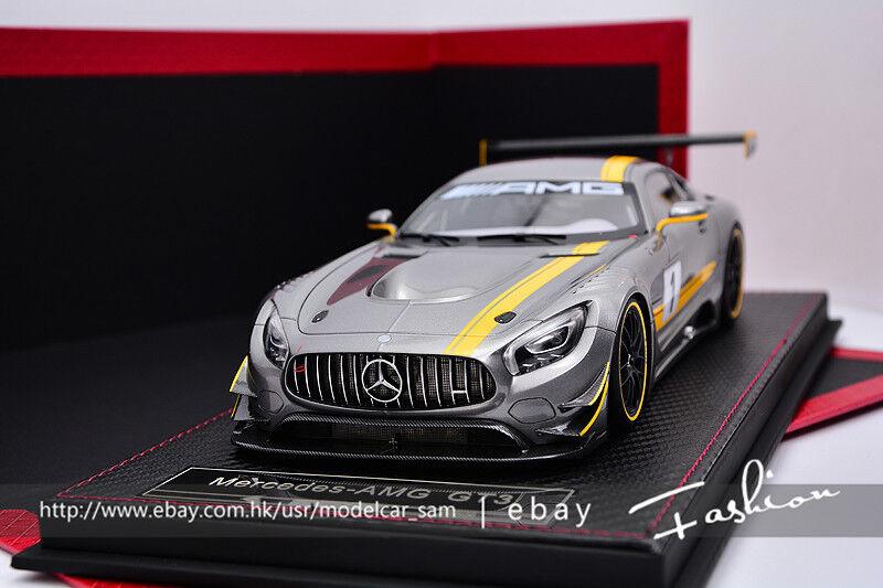 FRONTIART Avanstyle 1 18  2015 Mercedes AMG GT3 Presentation Salon Geneve BBR MR