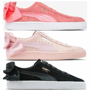 38efe2d476dbea Puma Suede Bow Womens Trainers~RRP £70~Sizes UK 3 to 7.5