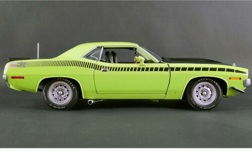1971 PLYMOUTH HEMI AAR CUDA SUBLIME GREEN BARRACUDA TOP 1:18 ACME GMP