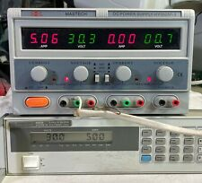 Mastech Hy3005f 3 Triple Output 30v 5a Variable Dc Power Supply With Tracking