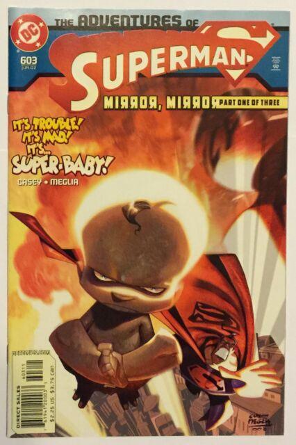 Adventures of Superman #603 (Jun 2002, DC) VF Condition