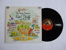 THE KINGS SINGERS ~ KIDS STUFF WITH JUDI DENCH ~ QUALITY NrM/EX+ '86 UK VINYL LP