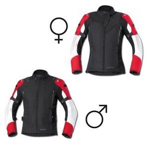 NEU-Held-Montero-GTX-Motorradjacke-schwarz-rot-Gr-Damen-XL-passend-zur-Salerno