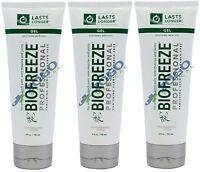 Biofreeze Professional Gel 4 Oz Tube - Pack Of 3