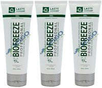 Biofreeze Professional Gel 4 Oz Tube - Pack Of 3