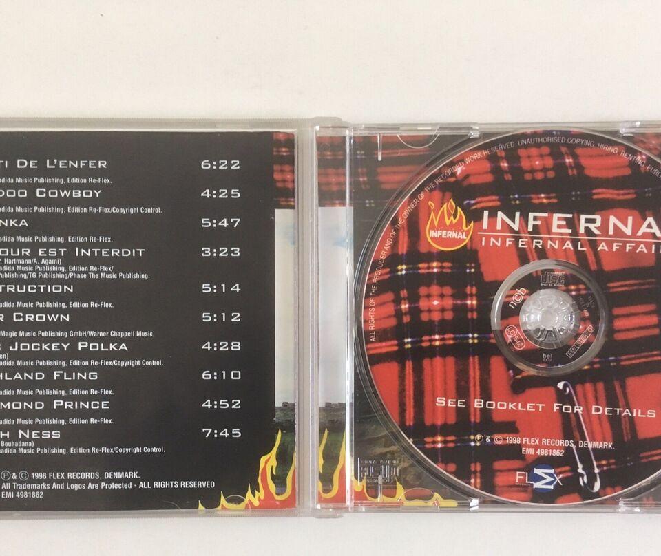 Autografer, Infernal cd Autograf