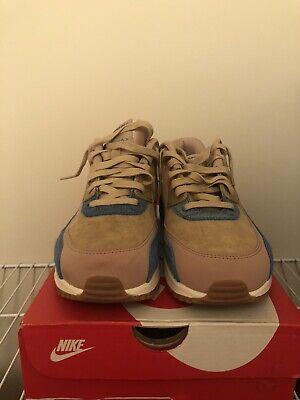 Nike Wmns Air Max 90 LX Mushroom Smokey Blue 898512 200 New Women's Multi Size   eBay