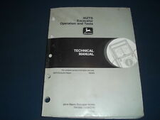John Deere 35zts Excavator Technical Service Shop Operation Amp Test Manual Tm1840