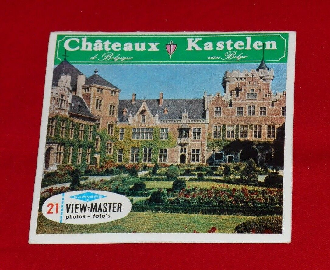 CHATEAUX DE BELGIQUE KASTELEN VAN BELGIE VIEW-MASTER REELS Castles of Belgium