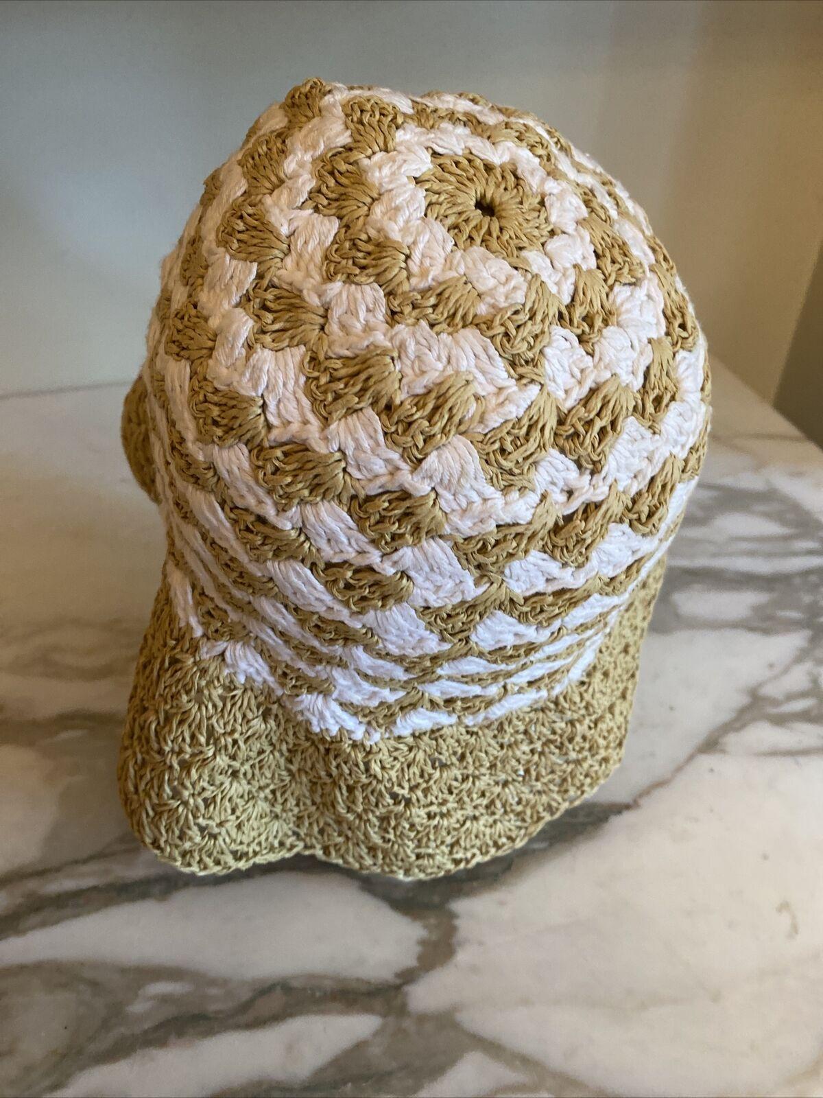daniele meucci hat Paper Natural White Sun Hat - image 3