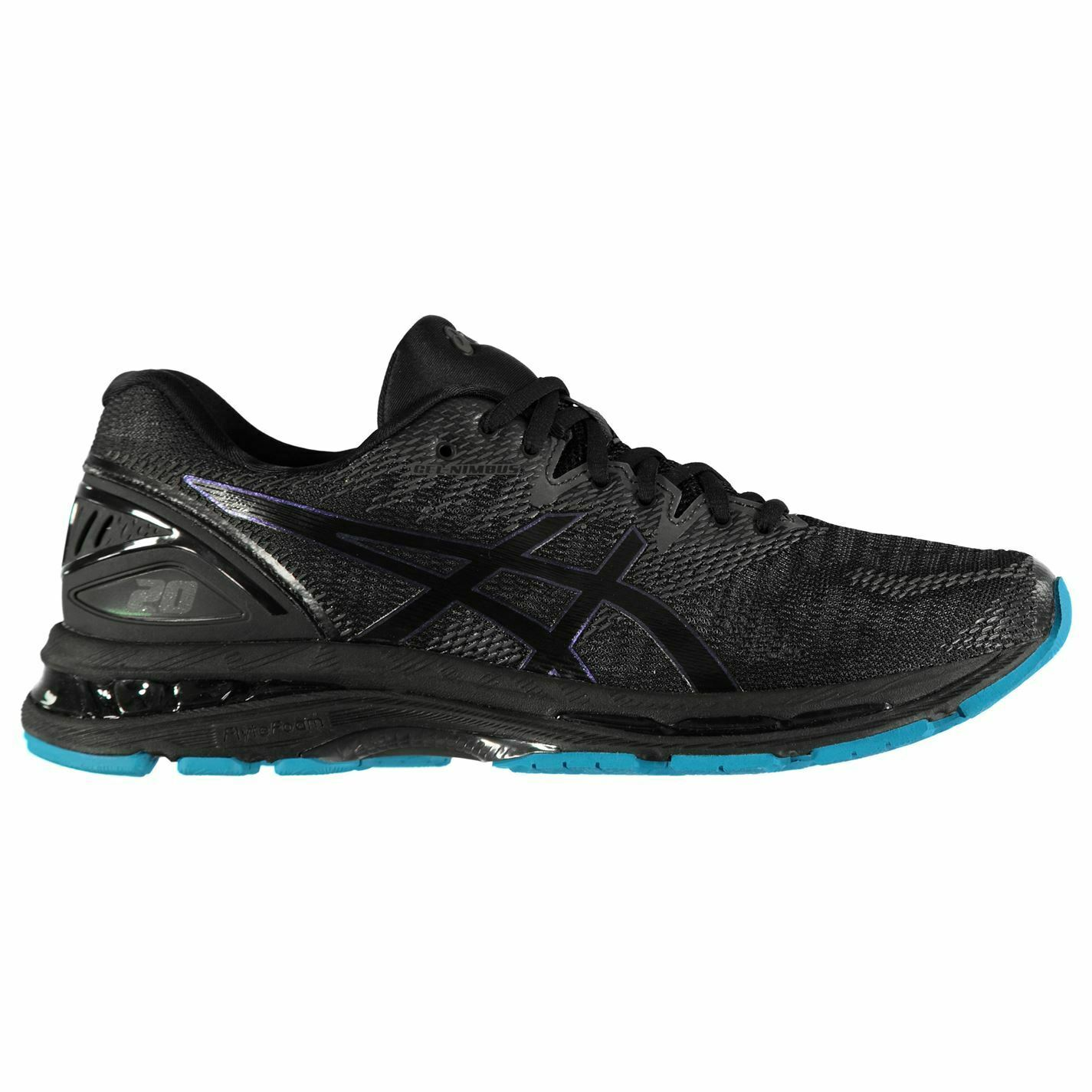 Asics Mens Gel Nimbus 20 Running shoes Road Lace Up Breathable Cushioned Ankle