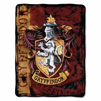 Warner Brothers' Harry Potter, Battle Flag Micro Raschel Throw By The Northwest