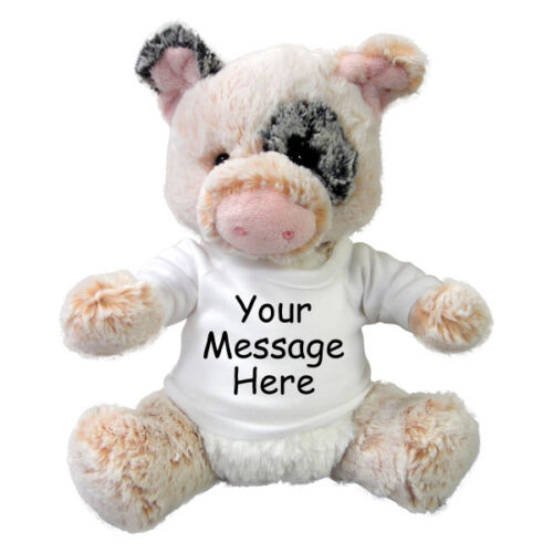 11 inch Aurora Plush Percy Pig Personalized Stuffed Pig