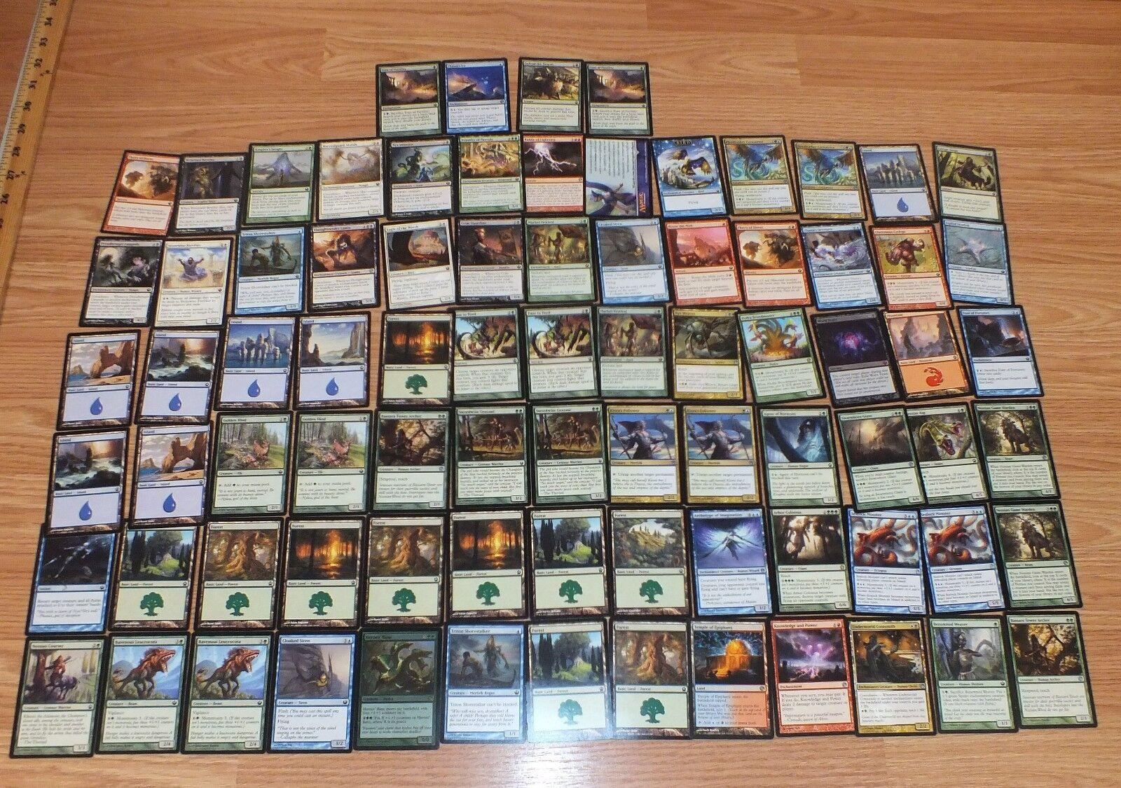 Lot of 82  Genuine magi The Alling samlaible Trading bilds