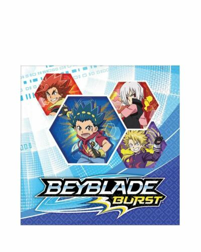 Beyblade Lunch 2ply Napkins Pack Of 16 One Size