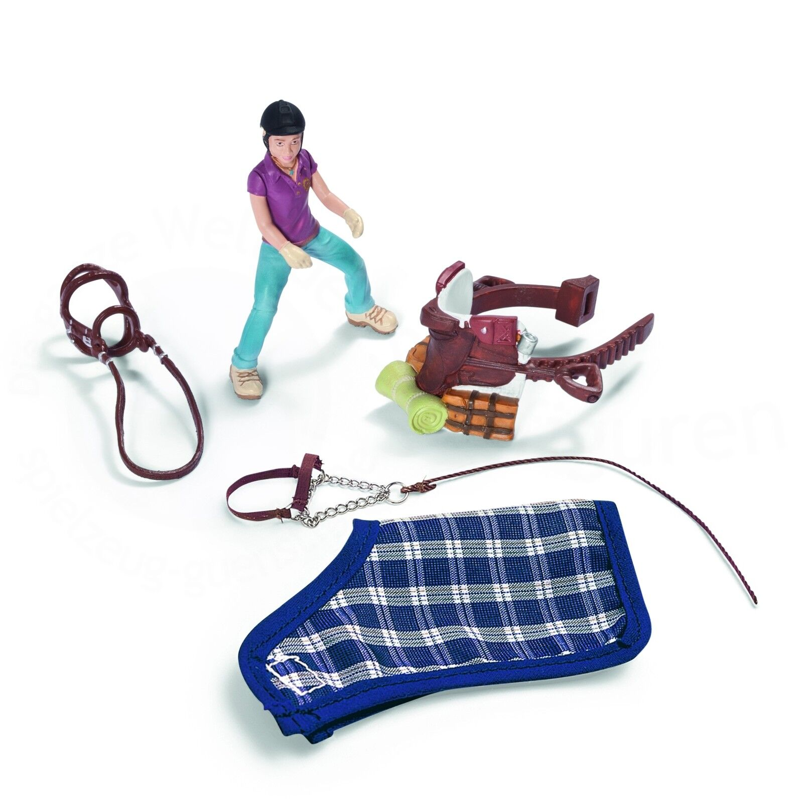 NEW IN BOX SCHLEICH 42093 Pony Riding   Camping Accessories Set - RETIRED
