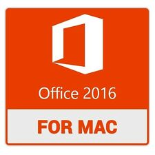 Office 2016 Mac Home and Business - 1 PC