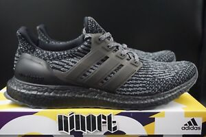 48a984744f5 Adidas Ultra Boost 3.0 Limited Triple Black Silver Grey BA8923 new ...
