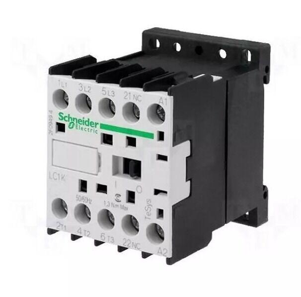 Schneider Electric LC1K0910B7 Contactor 24 VAC 3 Pole TeSys 036362