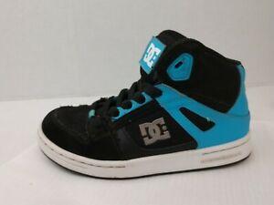 DC Shoes Boys 1 Youth Black Blue High