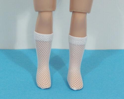 """WHITE Mesh Doll Socks For 8/"""" Tiny Ann Estelle /& Tiny Betsy McCall Debs"""
