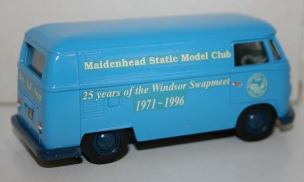 RARE CORGI VW T1 Van msmc maidenhead modello CLUB PROMO 1 43 Nuovo in Scatola 1 del 250