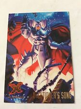 X-CUTIONER'S SONG  card nr 124 X-MEN '95 FLEER ULTRA  MARVEL