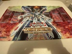 Yu-Gi-Oh-Flames-of-Destruction-Sneak-Peek-Promo-Playmat-New