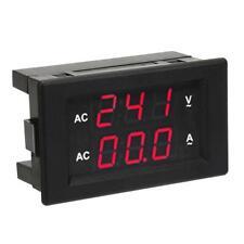 Dual Led Digital Display Ac 100300v 0 100a Voltmeter Ampere Meter Gauge