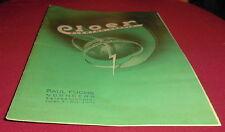 alt prospekt blatt cloer elektro geräte katalog haushalt  reklame werbung 1952
