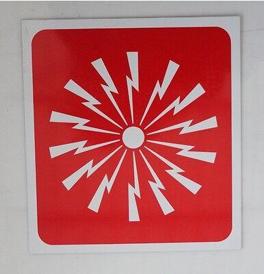 Cartello di avviso in allumino VALVOLA METANO 25x30,5 cm nuovo 12996 20C-3-A-1