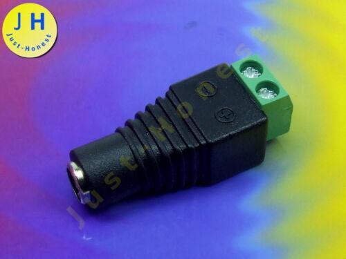 ADAPTER Klemmleiste /<-/> DC 2.1mm Buchse Plug ARDUINO  Terminal block #A1588