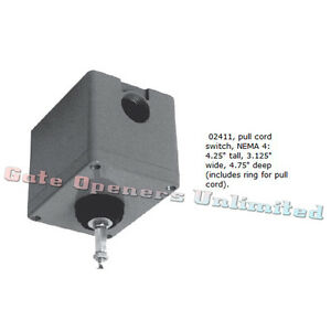 Liftmaster 02411 Outdoor Single Pull Switch Control