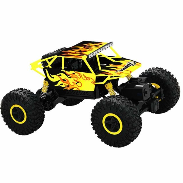 Remote Control Monster Truck RC Toys 4 Wheel Drive Toy Kids Outdoor Garden Suv