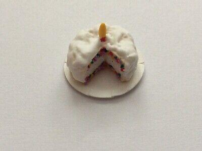 hecho a mano comida Pastel nuevo Gala Pastel Casa De Muñecas Picnic Pastel escala 12th